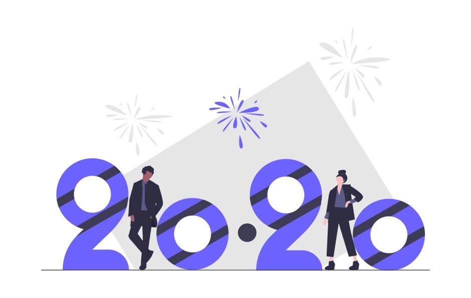2020年のオブジェの画像。