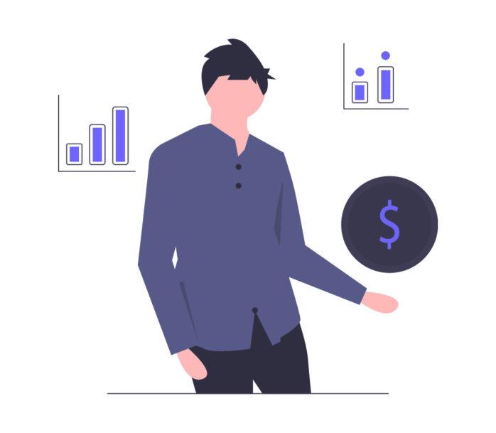 個人融資の画像。